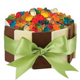 Superb Gummi Bear Tuxedo Cake Baskin Robbins Australia Funny Birthday Cards Online Benoljebrpdamsfinfo