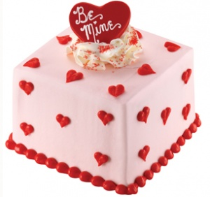 U0027Be Mineu0027 Mini Valentine Cake