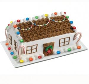 Candy Lane Cottage Cake
